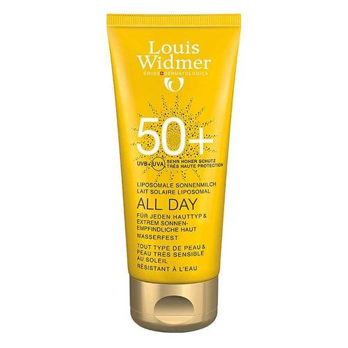 LOUIS WIDMER SUN ALL DAY aurinkovoide SPF 50+ 100 ml