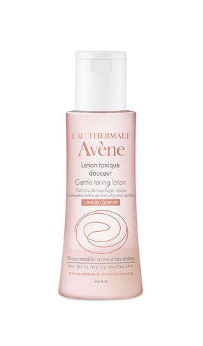 AVENE GENTLE TONING LOTION kasvovesi matkakoko 100 ml