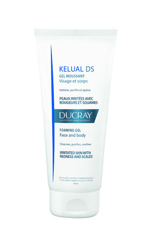 DUCRAY KELUAL DS FOAMING GEL puhdistusgeeli 200 ml *