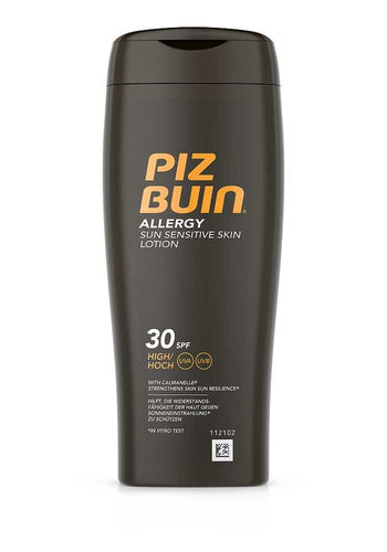 PIZ BUIN ALLERGY SUN SENSITIVE SKIN LOTION SPF30 aurinkovoide 200 ml