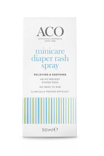 * * ACO MINICARE DIAPER RASH SPRAY vaippaihottumaspray 50 ml