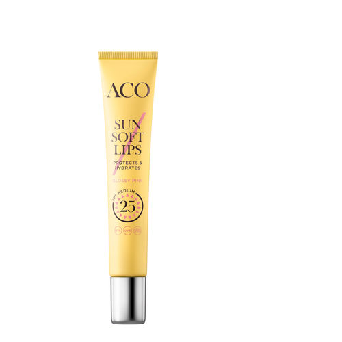 Aco Sun Soft Lips SPF 25 huulikiilto 12 ml
