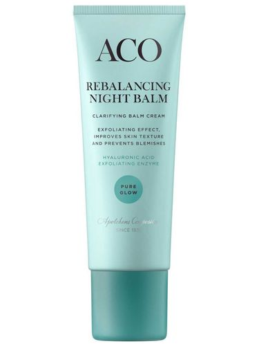 * * ACO PURE GLOW REBALANCING NIGHT BALM yövoide 50 ml