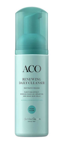 ACO FACE PURE GLOW RENEWING DAILY CLEANSER puhdistusvaahto 150 ml