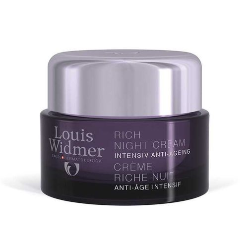 LOUIS WIDMER RICH NIGHT CREAM yövoide 50 ml