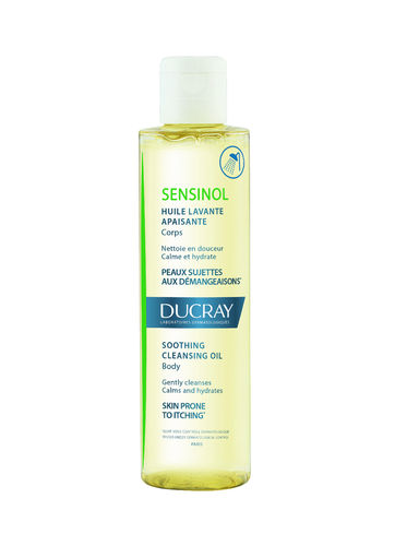 DUCRAY SENSINOL Cleansing Oil pesuöljy 200 ml