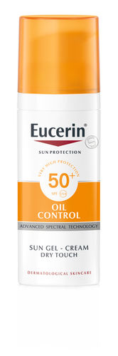 EUCERIN OIL CONTROL SUN GEL-CREAM Dry Touch SPF50+ aurinkovoide 50 ml