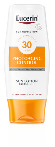 EUCERIN PHOTOAGING CONTROL SUN LOTION EXTRA LIGHT aurinkosuojavoide SPF30 150 ml