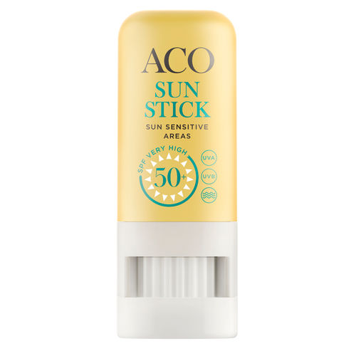 ACO SUN STICK SUN SENSITIVE AREAS SPF 50+ aurinkopuikko
