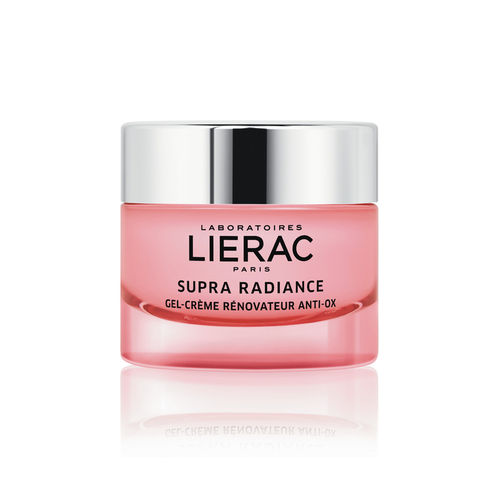 * * LIERAC SUPRA RADIANCE ANTI-OX RENEWING CREAM-GEL hoitovoide normaalille ja sekaiholle 50 ml