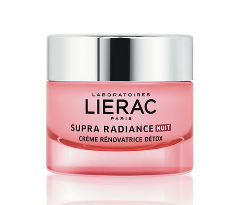 LIERAC SUPRA RADIANCE DETOX RENEWING CREAM NIGHT heleyttävä yövoide 50 ml