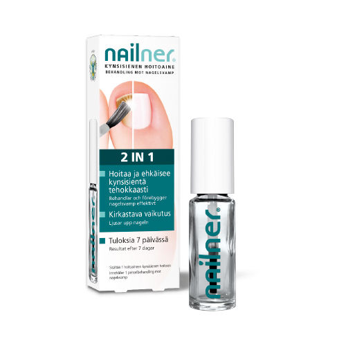 NAILNER 2-in-1 kynsisienen hoitoaine 5 ml **
