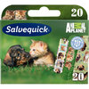 SALVEQUICK ANIMAL PLANET laastarilajitelma 20 kpl **
