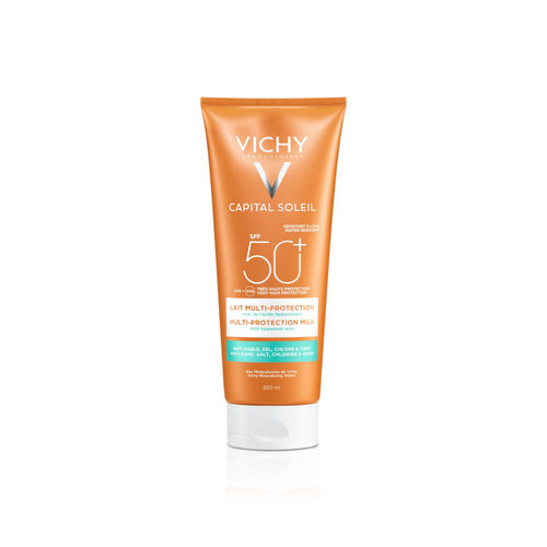 VICHY CAPITAL SOLEIL MULTI-PROTECTION MILK SPF 50+ aurinkovoide 200 ml