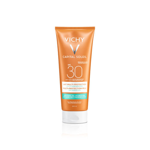VICHY CAPITAL SOLEIL MULTI-PROTECTION MILK SPF 30 aurinkovoide 200 ml