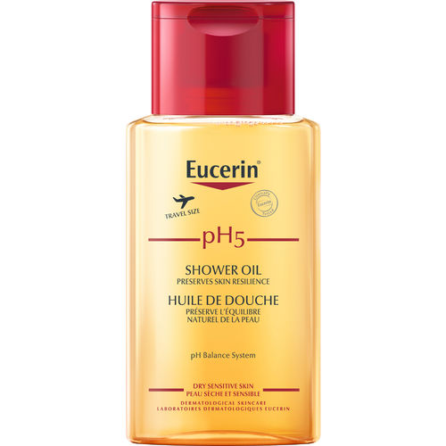 EUCERIN PH5 SHOWER OIL matkakoko 100ml hajustettu