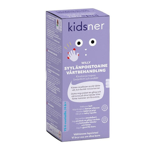 KIDSNER WILLY syylänpoistoaine 4 ml *
