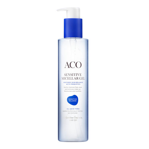 ACO SENSITIVE BALANCE MICELLAR CLEANSING GEL puhdistusgeeli 200 ml