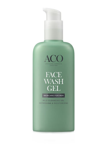 ACO FOR MEN FACE WASH puhdistusgeeli 200 ml