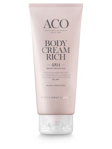 ACO BODY CREAM RICH vartalovoide 200 ml