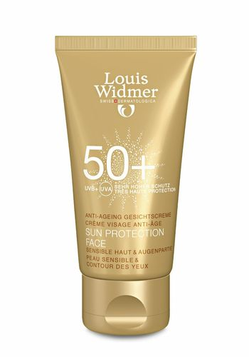 * LOUIS WIDMER SUN PROTECTION FACE aurinkovoide SPF 50+ 50 ml