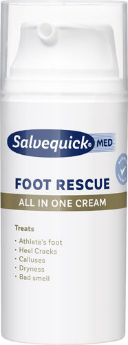 SALVEQUICK FOOT RESCUE ALL IN ONE CREAM jalkavoide 100 ml