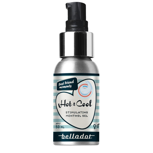 BELLADOT HOT & COOL  stimuloiva liukuvoide 50 ml **