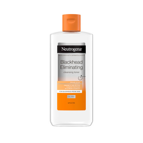 NEUTROGENA BLACKHEAD ELIMINATING CLEANSING TONER kasvovesi 200 ml *