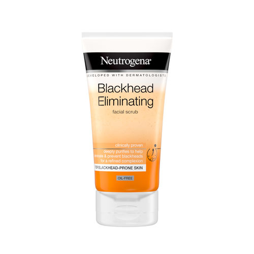 NEUTROGENA BLACKHEAD ELIMINATING FACIAL SCRUB kuorintavoide 150 ml *
