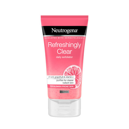 NEUTROGENA REFRESHINGLY CLEAR DAILY EXFOLIATOR kuorintavoide 150 ml *