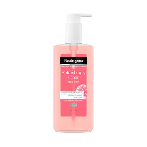 NEUTROGENA REFRESHINGLY CLEAR FACIAL WASH puhdistusgeeli 200 ml *