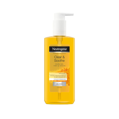 NEUTROGENA CLEAR & SOOTHE MICELLAR JELLY meikinpoistogeeli 200 ml *