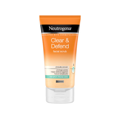 NEUTROGENA CLEAR & DEFEND FACIAL SCRUB kuorintavoide 150 ml *