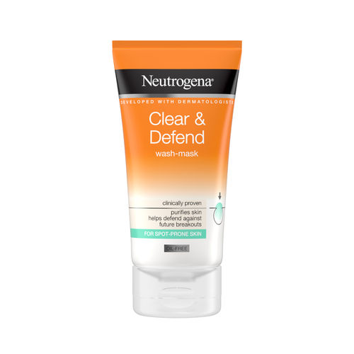 NEUTROGENA CLEAR & DEFEND WASH MASK naamio 150 ml *